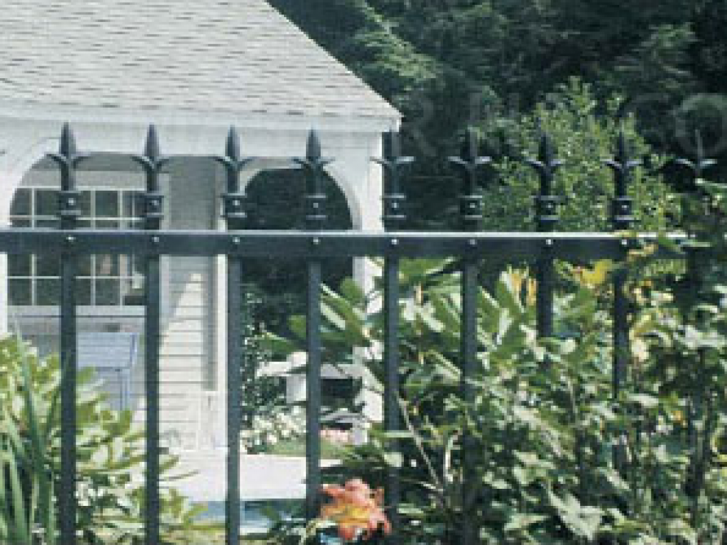 Your family deserves the best steel fencing available in North Liberty, Iowa City & Coralville, IA